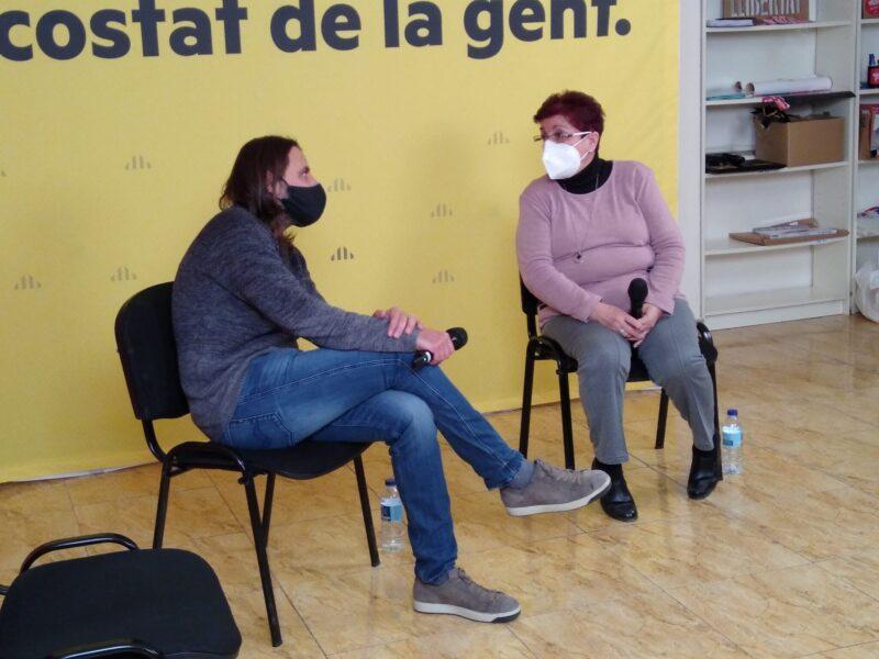 La Bustia Jordi Albert acte ERC campanya 14F