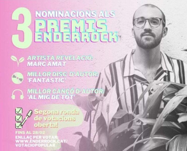 La Bustia Marc Amat Premi Enderrock