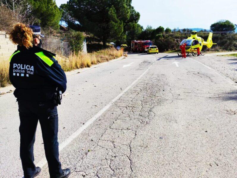 La Bustia accident Sant Esteve