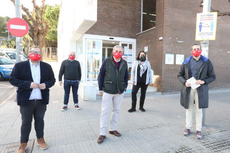 La Bustia acte campanya PSC Sant Andreu