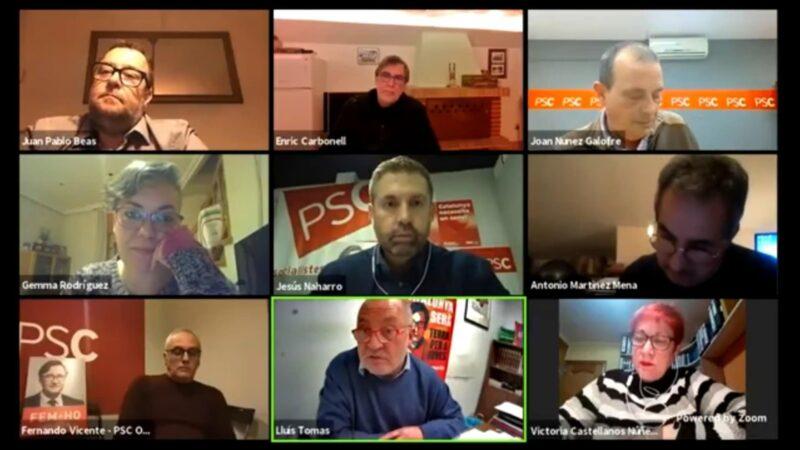 La Bustia assemblea PSC Baix Llobregat Nord