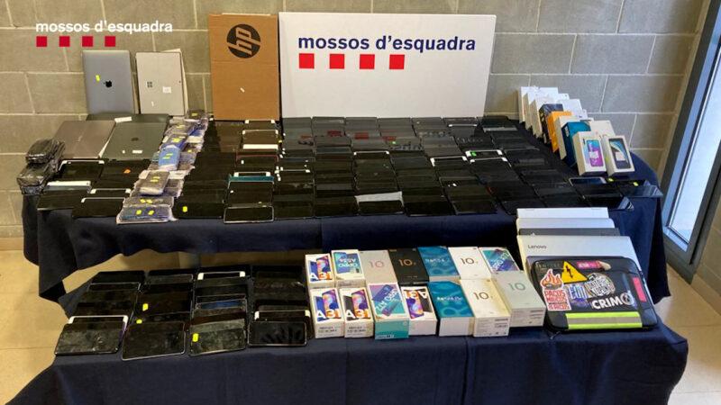 La Bustia mobils detingut Abrera