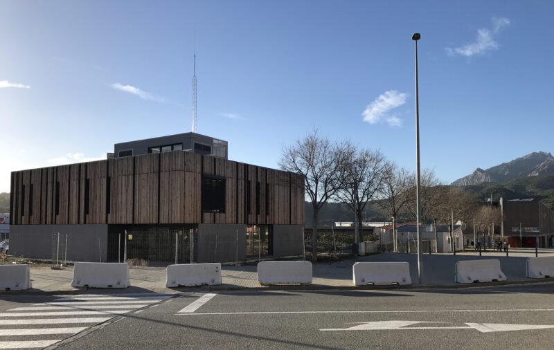 La Bustia nova caserna Policia Local Olesa