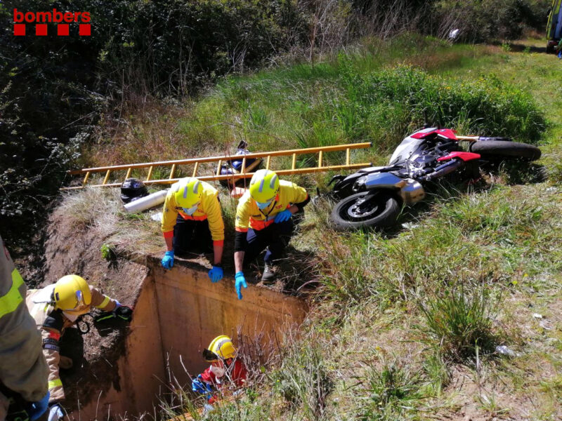 La Bustia accident pou Esparreguera