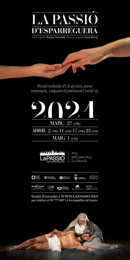 La Bustia cartell La Passio 2021