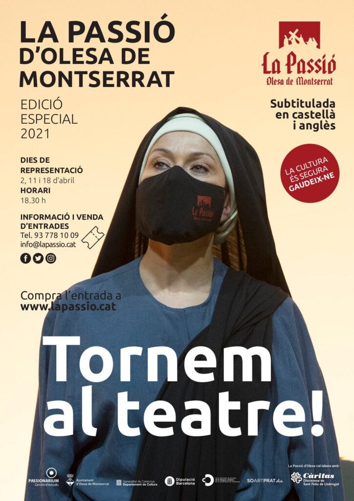 La Bustia cartell Maria Passio Olesa 2021