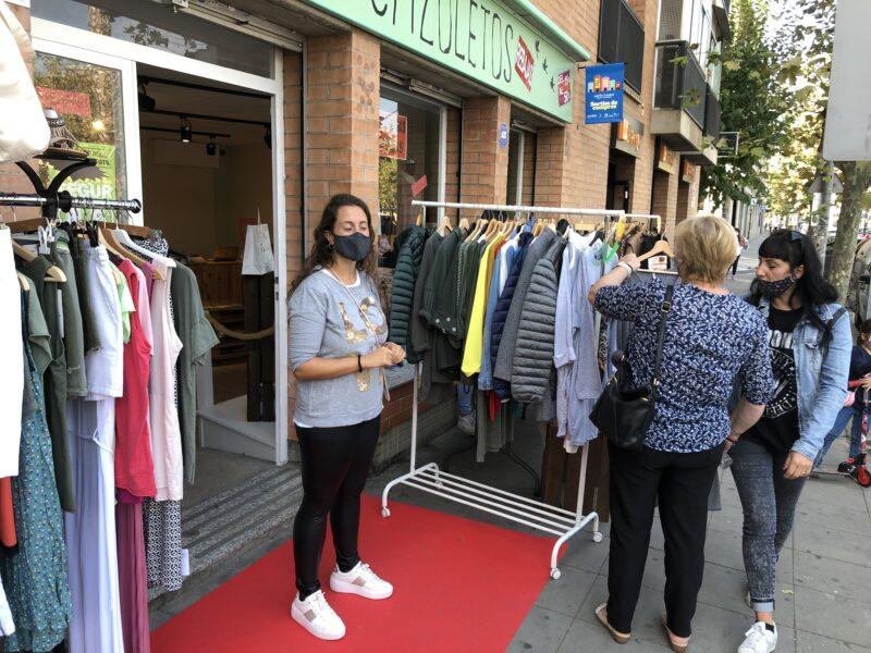 La Bustia comerços Sant Andreu carrer