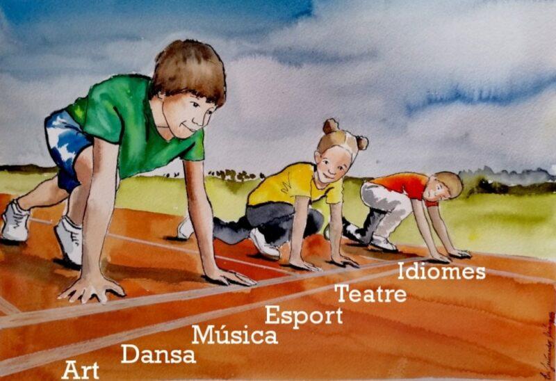 La Bustia dibuix Eva Fernandez esport