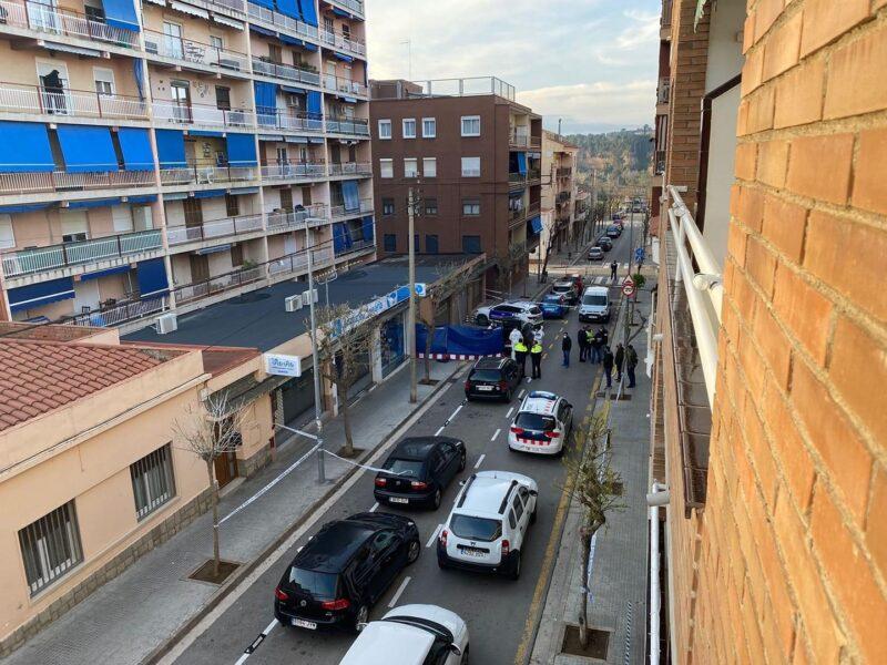 La Bustia home mort carrer Olesa