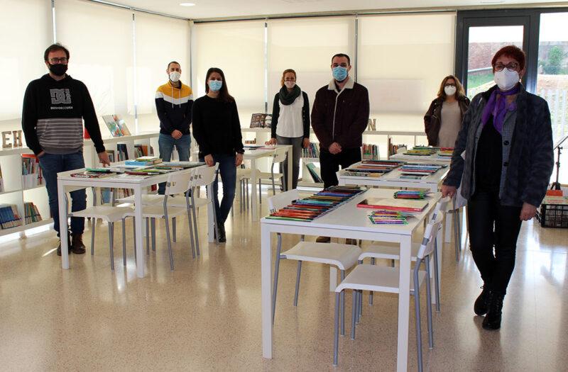La Bustia llibres escola Castellvi