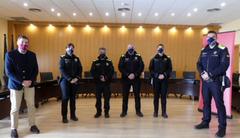 La Bustia nous agents i funcionaria Policia Local Abrera