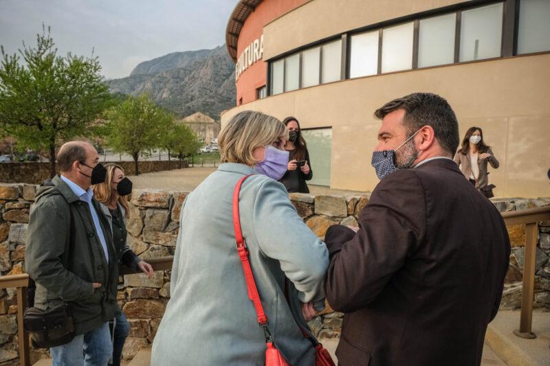 La Bustia visita Alba Verges consultori local Collbato 3