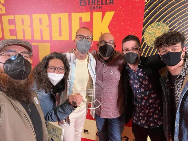 La Bustia Ballaveu i Marc Amat Premis Enderrock