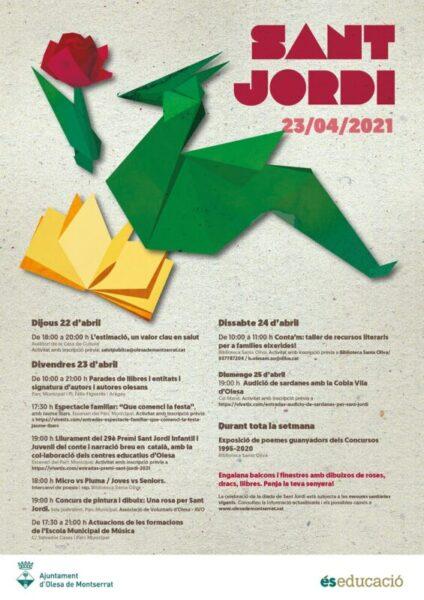 La Bustia Sant Jordi Olesa 2021
