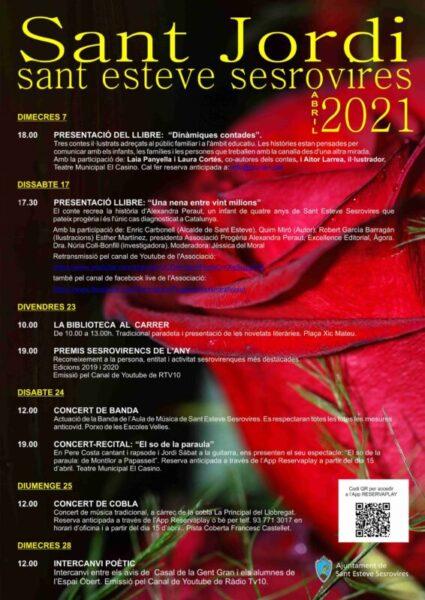 La Bustia Sant Jordi Sant Esteve 2021