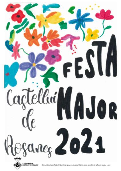 La Bustia cartell Festa Major Castellvi (2)