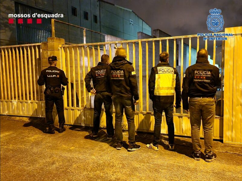 La Bustia entrades policials 2