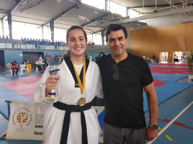 La Bustia Alejandra Paz taekwondo