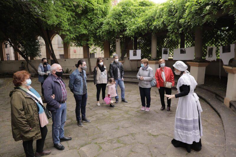 La Bustia Fira Primavera Martorell visita teatralitzada