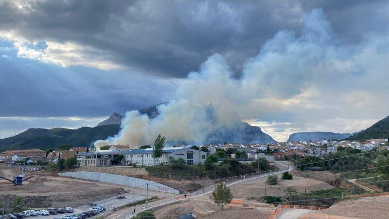 La Bustia Incendi forestal 20 maig 2021 Olesa