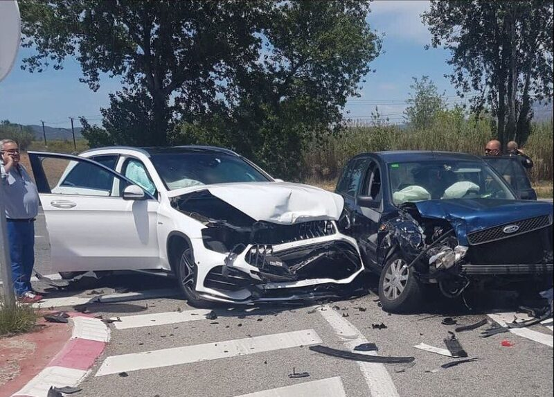 La Bustia accident B224 Masquefa