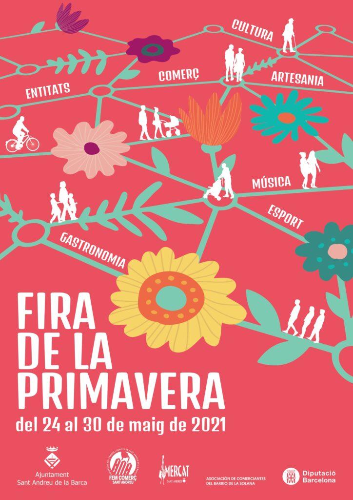 La Bustia cartell Fira Primavera Sant Andreu