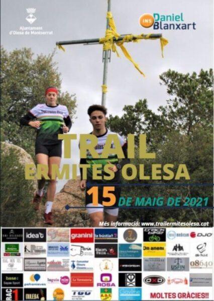 La Bustia cartell Trail Ermites Olesa 2021