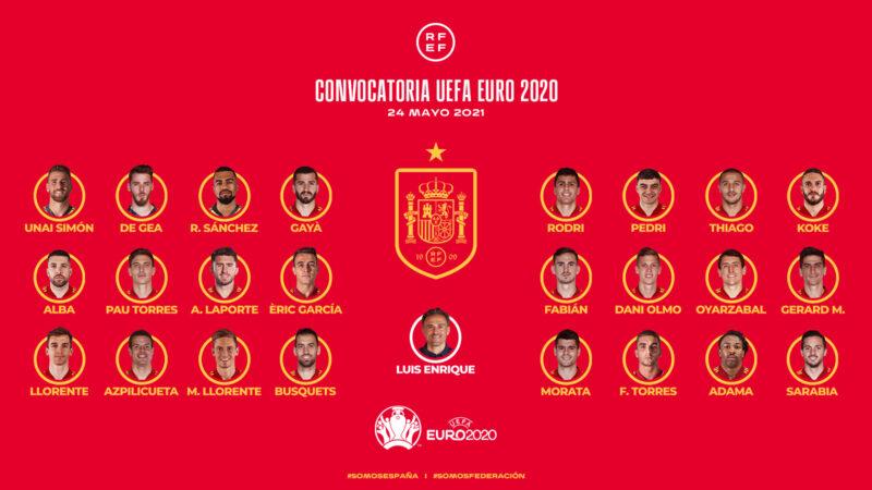 La Bustia convocatoria Eric Garcia Eurocopa