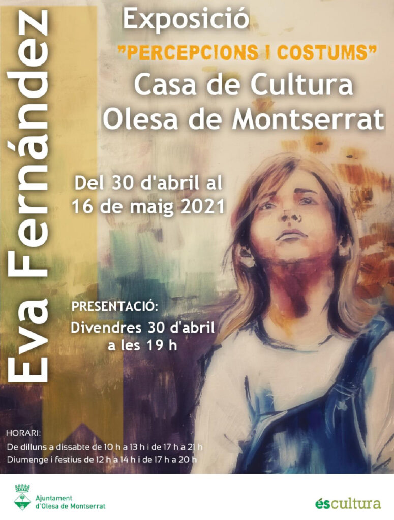 La Bustia exposicio cartell percepcions i costums Eva Fernandez Olesa