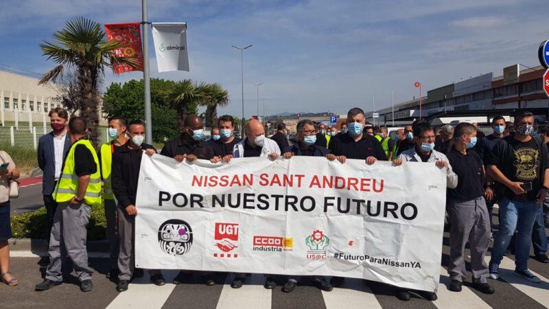 La Bustia mobilitzacio Nissan Sant Andreu (1)