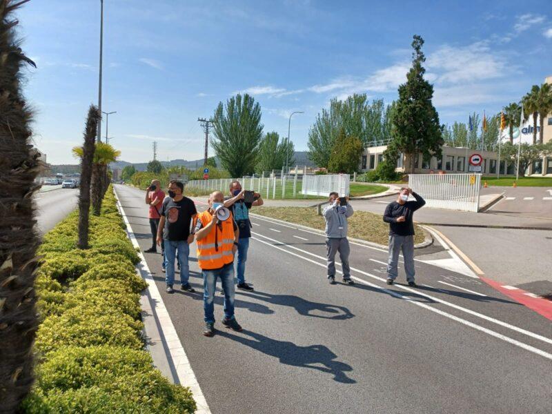 La Bustia mobilitzacio Nissan Sant Andreu (3)