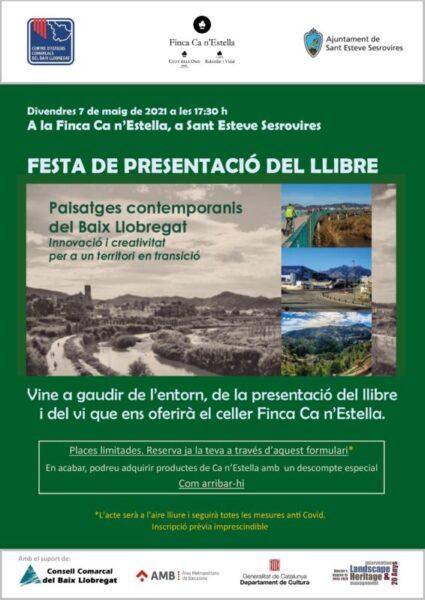 La Bustia presentacio llibre Paisatges contemporanis del Baix Llobregat