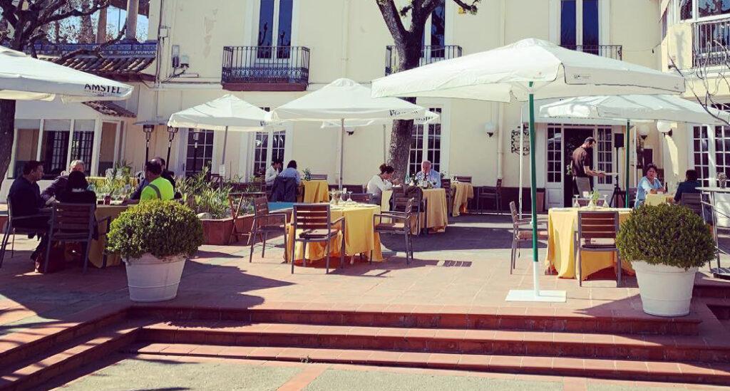 La Bustia restaurant El Palauet Can Amat Paradis Sant Esteve