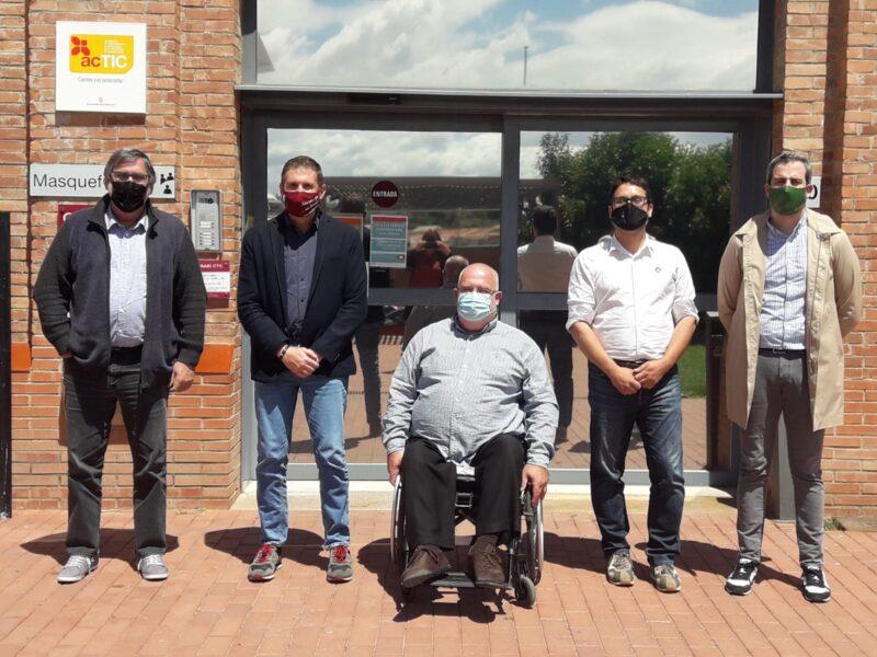 La Bustia trobada alcaldes CTC Masquefa