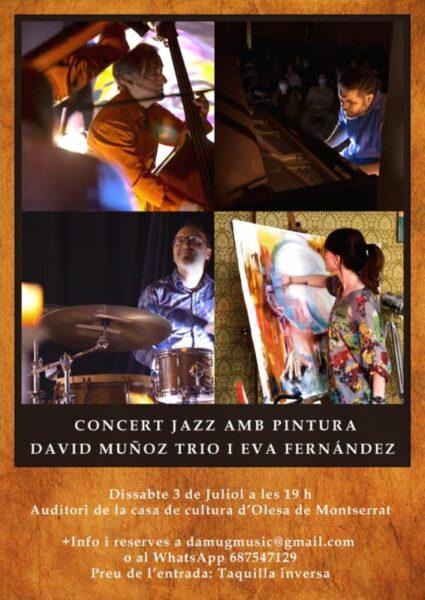 La Bustia David Muñoz Trio i Eva Fernandez Cartell