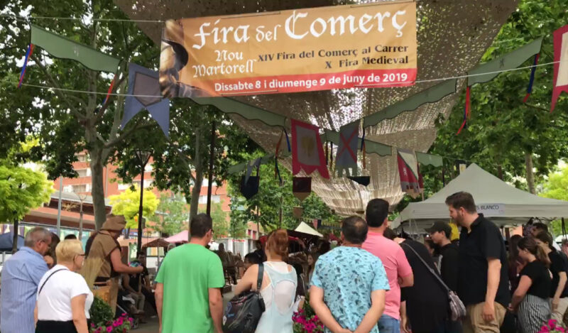 La Bustia Fira comerc i medieval Nou Martorell juny 2019