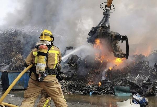 La Bustia bombers incendi empresa Castellbisbal Sant Andreu 3