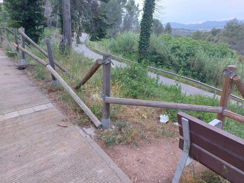 La Bustia cami enllac Castellvi