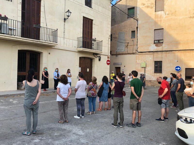 La Bustia concentracio contra violencia masclista 11 juny 2021 Collbato