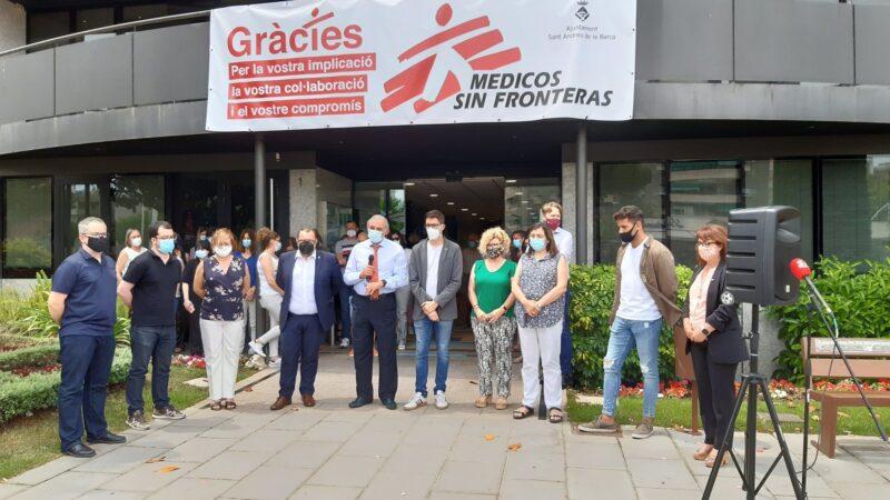 La Bustia concentracio contra violencia masclista 11 juny 2021 San Andreu