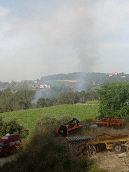 La Bustia incendi Sant Esteve