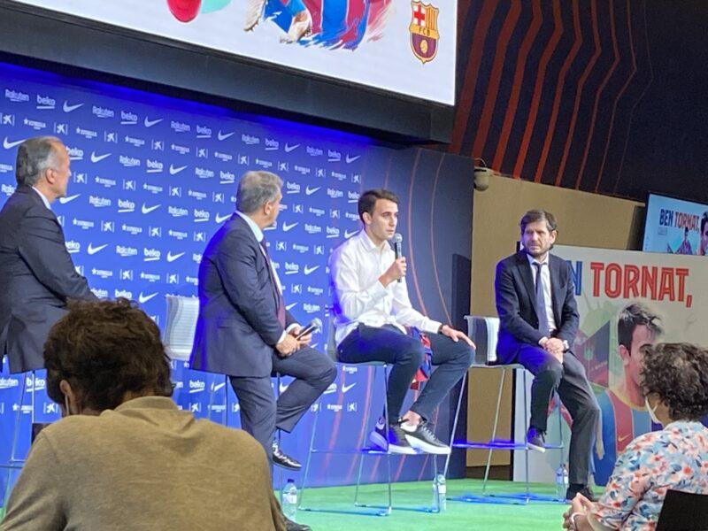 La Bustia presentacio Eric Garcia Barça (4)