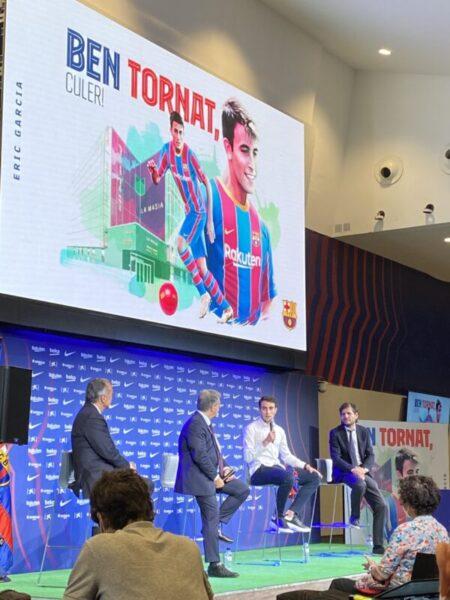 La Bustia presentacio Eric Garcia Barça (5)