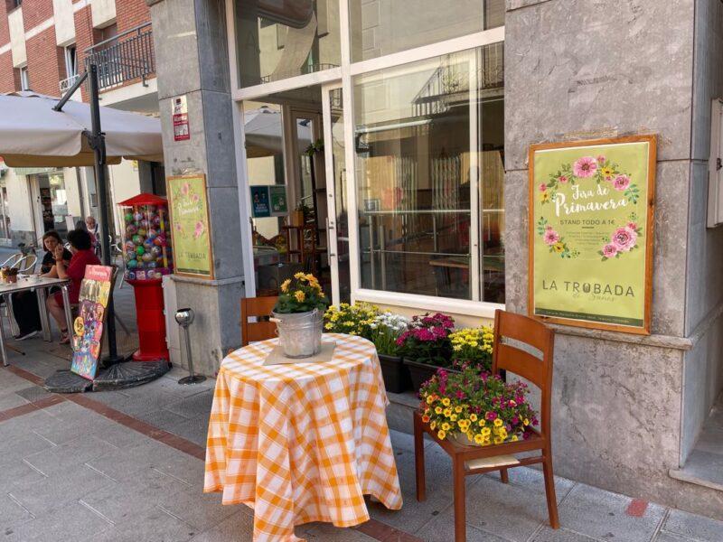 La Bustia primer concurs comerc decorat Sant Esteve
