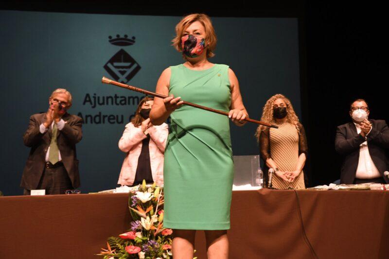 La Bustia Ana Alba alcaldessa Sant Andreu