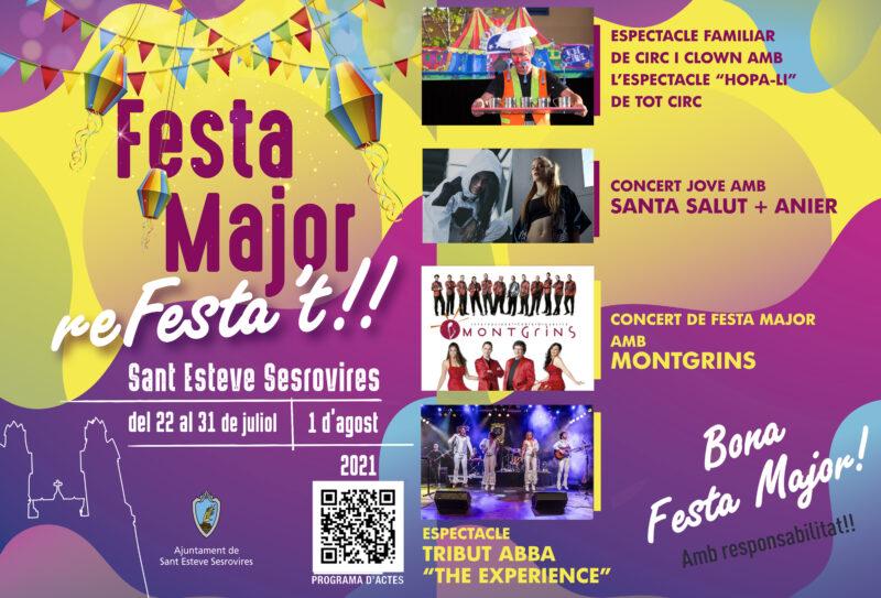La Bustia Festa Major Sant Esteve 2021