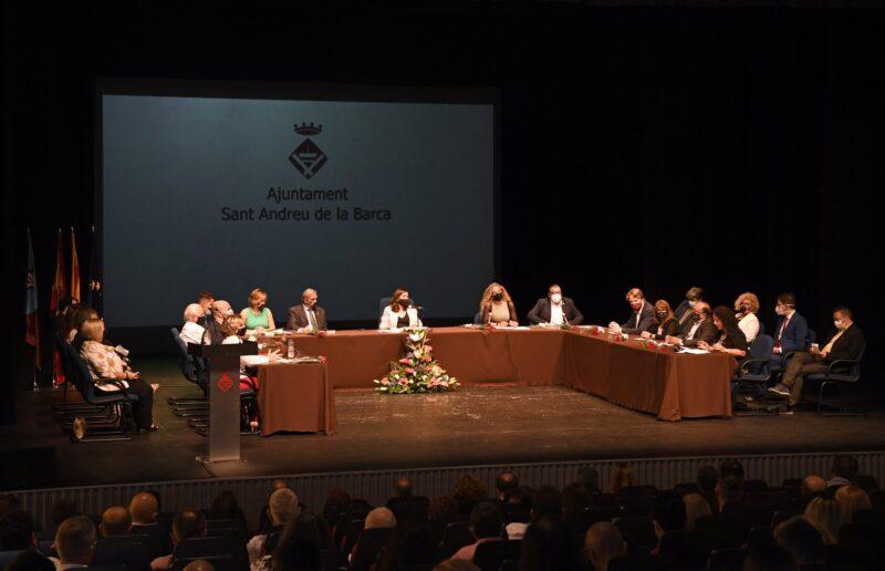 La Bustia Ple investidura Ana Alba Sant Andreu