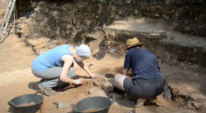La Bustia campanya arqueologica Santa Margarida Martorell