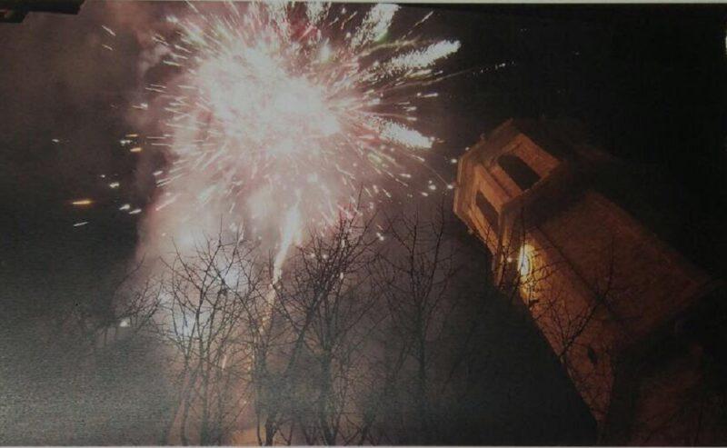 La Bustia castell de focs Esparreguera