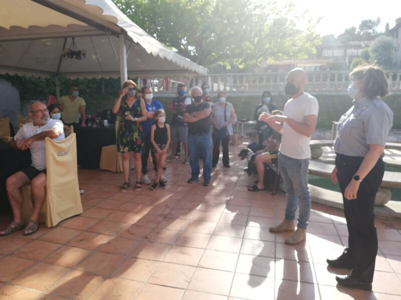 La Bustia comunicacio retorn evacuats incendi Castellvi Martorell